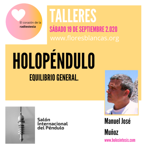 TALLER HOLOPENDULO ON-LINE